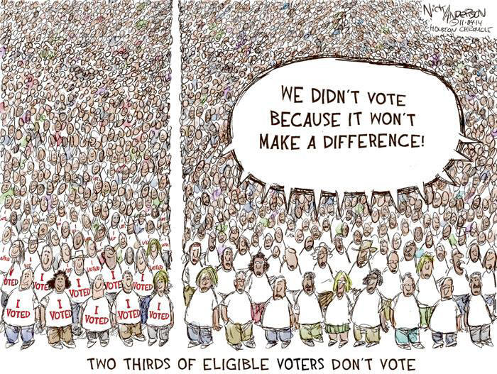 Voter Apathy Cartoon